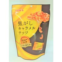 東洋ナッツ食品 75g焦がしキャラメルナッツ カシューナッツ 701055 4袋(直送品)の画像