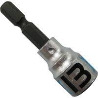 ベストツール KOSEI×BEST ショートソケットビット 13mm BSS-13 1個(直送品)