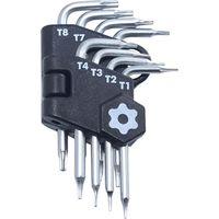 ベストツール マイクロサイズ8pcsトルクスねじ用レンチ ヘックスロブ THPM-08 1セット(直送品)