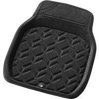 BONFORM(ボンフォーム) バケットマット 3Dジオガード フロント1枚 48×62cm ブラック 6459-01BK 1個(直送品)