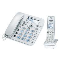 パナソニック デジタルコードレス電話機 VE-GD37DL-S 1台