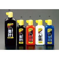 エスコ(esco) 180ml 墨汁(青) 1セット(10個) EA581DA-23(直送品)