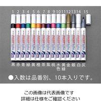 エスコ(esco) [桃] 油性ペイントマーカー(10本) 4セット(40本) EA765MR-9(直送品)