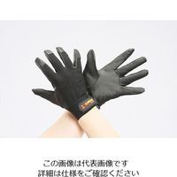 エスコ(esco) [M] 手袋(ポリウレタン/黒) 1セット(10双) EA353BG-81(直送品)
