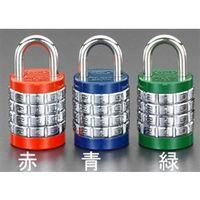 エスコ(esco) 25mm 符号錠(4段) 1セット(10個) EA983SS-25(直送品)