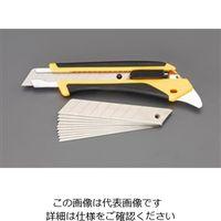 エスコ(esco) カッターナイフ(替刃10枚付セット) 10セット EA589CY-21(直送品)