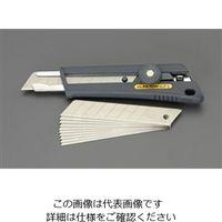エスコ(esco) 155mm カッターナイフ(替刃10枚付セット) 10セット EA589BJ-20(直送品)