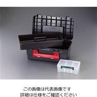 エスコ(esco) 400x230x180mm 工具箱(中皿付) 1セット(3個) EA507MD-11(直送品)