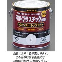 エスコ(esco) 0.7L FRP・プラスチック用水性塗料(黄) 1セット(3缶) EA942ER-4(直送品)