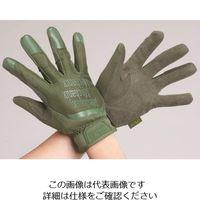 エスコ(esco) [M] 手袋・メカニック(合成革/OD) 1セット(3双) EA353BS-72(直送品)