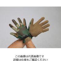 エスコ(esco) [S] 手袋・メカニック(合成革/迷彩) 1セット(3双) EA353BT-156A(直送品)