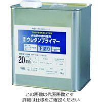 アトムサポート(アトムハウスペイント) アトムペイント 水性防水塗料専用ウレタンプライマー 2kg 00001-23002 207-4537(直送品)