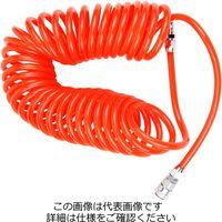 藤原産業 E-Value スクリューエアホース大流量SAH-10-8 SAH-10-8 1本(10m)(直送品)