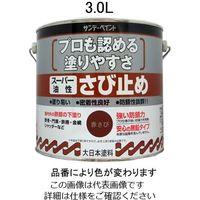 エスコ(esco) 3.0L [油性]錆止め塗料(赤さび) 1セット(2缶) EA942ED-21(直送品)