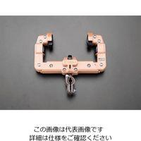 エスコ(esco) 20-30mm ケーブル滑車(75・100mmI形鋼用) 1セット(2個) EA947GA-13(直送品)
