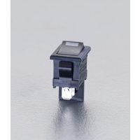 エスコ(esco) 125V/10A単極単投LED照光ロッカースイッチ/高容量型 1セット(15個) EA940DH-452(直送品)