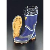 エスコ(esco) 27.0cm 安全長靴(踏抜き防止) 1セット(2足) EA998RH-27(直送品)