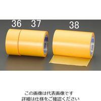 エスコ(esco) 50mmx25m 養生テープ(強粘着/外装用/マンゴー) 1セット(15巻) EA944ML-36(直送品)