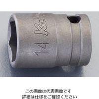 """エスコ(esco) 0/8""""DRx14mm ソケット(動力工具用) 1セット(10個) EA164CV-14(直送品)"""
