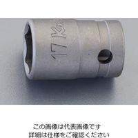 """エスコ(esco) 1/2""""DRx22mm ソケット(動力工具用) 1セット(10個) EA164DR-22(直送品)"""