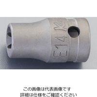 """エスコ(esco) 1/2""""DRxE18 TORXソケット(動力工具用) 1セット(5個) EA164DS-18(直送品)"""