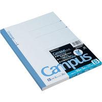 コクヨ キャンパスノート セミB5 30枚 B罫(6mm) 35行 ノ-3BNX3 1セット(15冊:3冊入×5パック)(直送品)