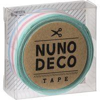 KAWAGUCHI ヌノデコテープ 1.5cm×1.2m かみふうせん 11-855 1セット(3個)(直送品)