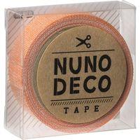 KAWAGUCHI ヌノデコテープ 1.5cm×1.2m みかん 11-868 1セット(3個)(直送品)