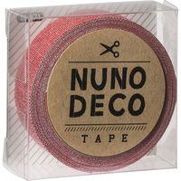 KAWAGUCHI ヌノデコテープ 1.5cm×1.2m さんご 11-871 1セット(3個)(直送品)