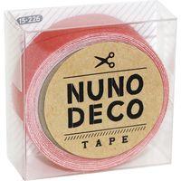 KAWAGUCHI ヌノデコテープ 1.5cm×1.2m フラミンゴ 15-226 1セット(3個)(直送品)