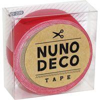 KAWAGUCHI ヌノデコテープ 1.5cm×1.2m つみきのあか 15-229 1セット(3個)(直送品)