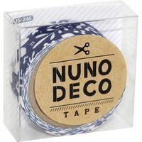 KAWAGUCHI ヌノデコテープ 1.5cm×1.2m 北欧の夜 15-246 1セット(3個)(直送品)