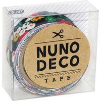 KAWAGUCHI ヌノデコテープ 1.5cm×1.2m 真夜中のさんぽ 15-247 1セット(3個)(直送品)