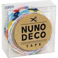 KAWAGUCHI ヌノデコテープ 1.5cm×1.2m おはなのかんむり 15-248 1セット(3個)(直送品)