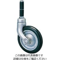 200M and Ms カスク型 メディカルキャスター 合成ゴム車輪 NO.208MS-19(直送品)
