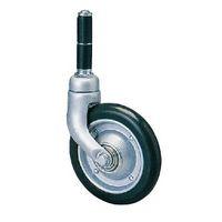 200M and Ms カスク型 メディカルキャスター 合成ゴム車輪 NO.208MS-21(直送品)