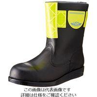 ノサックス(Nosacks) HSK舗装工事用安全靴 半長靴 高輝度反射材付(黄) 30cm HSK208-コウキドハンシャザイツキーキ(直送品)