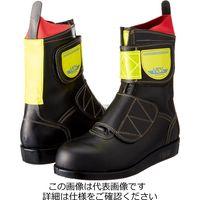 HSK舗装工事用安全靴 マジック式 高輝度反射材付(黄) 30cm HSKマジックーコウキドハンシャザイツキーキ(直送品)