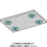 ナベヤ(NABEYA) Qロック内蔵プレート(フラット油圧) MCQ1060H-F 1個(直送品)