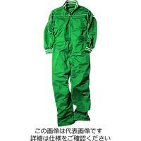 クレヒフク スポーツ長袖ツナギ服 グリーン 5L 809-50-5L 1枚(直送品)