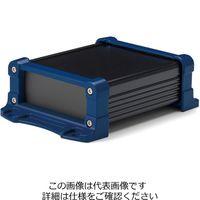 タカチ電機工業(TAKACHI) フランジ足付アルミケース アルミパネルタイプ EXPF7-4-9BN 1セット(2台)(直送品)