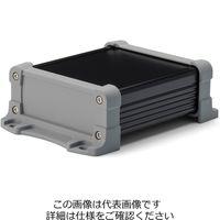 タカチ電機工業(TAKACHI) フランジ足付 防水アルミケース EXWF11-6-9BG 1セット(2台)(直送品)