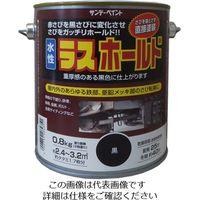 サンデーペイント 水性ラスホールド 800g 黒 2002E6 1セット(4800g:800g×6缶)(直送品)