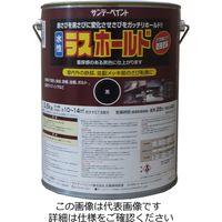 サンデーペイント 水性ラスホールド 3600g 黒 2002E7 1セット(14400g:3600g×4缶)(直送品)
