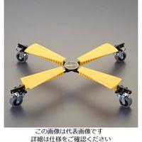エスコ(esco) 450x 350mm/ 65kg ドーリー(折り畳み式) 1個 EA520AD-71(直送品)