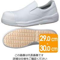 ミドリ安全 先芯入り超耐滑作業靴 HS-600CAP ホワイト 大 30.0cm 1足 2125085403(直送品)
