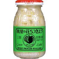 桃屋 花らっきょう 瓶 115g x12 1870262 1箱(12P入)(直送品)