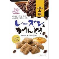 山脇製菓 レーズン&かりんとう 115g x12 5772962 1箱(12P入)(直送品)