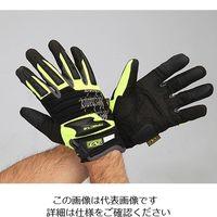 エスコ(esco) [S] 手袋・メカニック(合成革/蛍光イエロー) 1双 EA353BX-131(直送品)