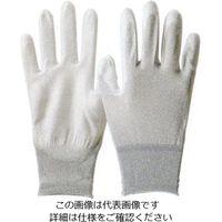 エスコ(esco) [L/230mm] 制電手袋(カーボン糸・ウレタンコート・10双 EA354AC-83(直送品)